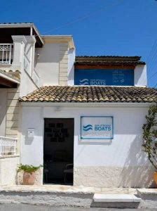 San Stefano Boats - Our Office on site