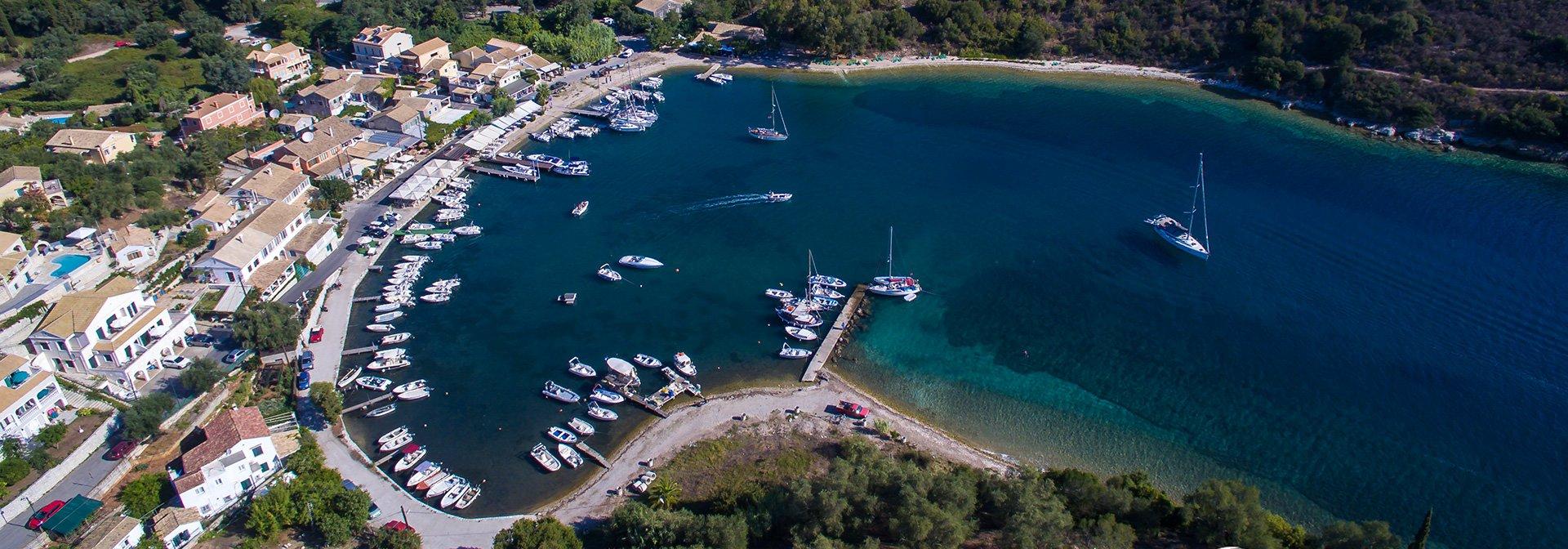 San Stefano Harbour – side view